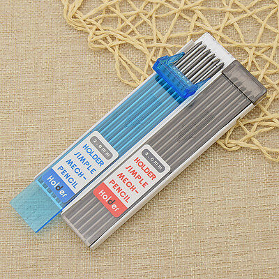 6 Pcs/box 2.0mm Mechanical Pencil Lead Refill Draughting Writing Drawing Tool