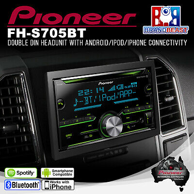 Pioneer FH-S705BT Bluetooth CD Player with Smartphone Connectivity