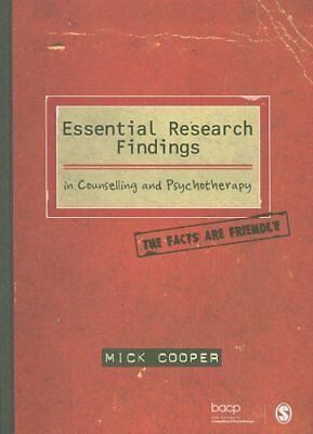 Essential Research Findings in Counselling and Psychotherapy Th... 9781847870438