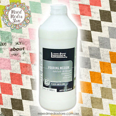 Liquitex Pouring Medium 32 oz (946ml) FAST SHIPPING