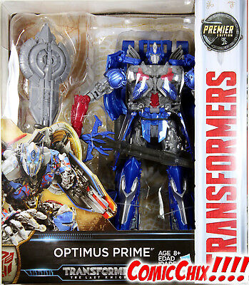 Transformers: Last Knight ~ Autobot OPTIMUS PRIME ACTION FIGURE ~ Leader Class