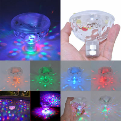 Underwater LED Floating Disco Light Show Bath Tub Swimming Pool Party Lights AU