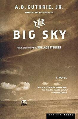 The Big Sky by A. B. Guthrie Book The Cheap Fast Free Post