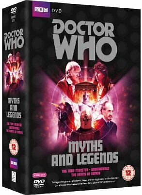 Doctor Who - Myths And Legends Box Set: The Time Monster / Underw... - DVD  98VG
