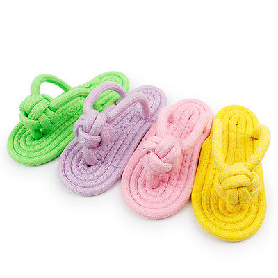 Dog Rope Toy Puppy Pet Chew Toys for Small Medium Dogs Teeth Cleaning Useful