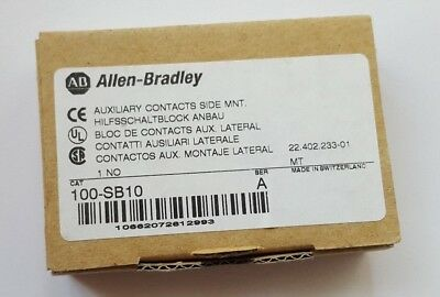 Allen Bradley 100-SB10 SER A Auxiliary Contact Block (R4S3.4B2)