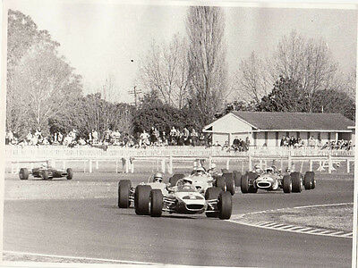 ALLAN, SCOTT, BARTLET, PALMER, STEWART RACING SINGLE SEATER No2 LEADING PHOTO