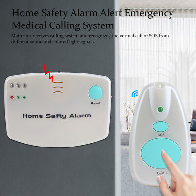 Home Safety Alarm SOS Alert Call System For Patient Medical Elderly Helper Kid H