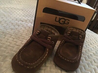 New Baby Ugg Size 6-12 Month Dark Brown