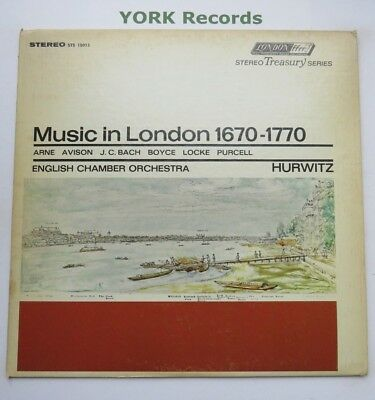 STS 15013 - MUSIC IN LONDON 1670-1770 - HURWITZ English Chamber O - Ex LP Record