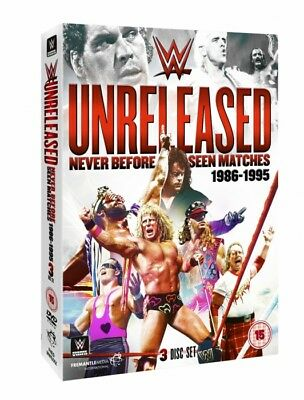 WWE UNRELEASED: 1986-1995 DVD 3 Disc Set