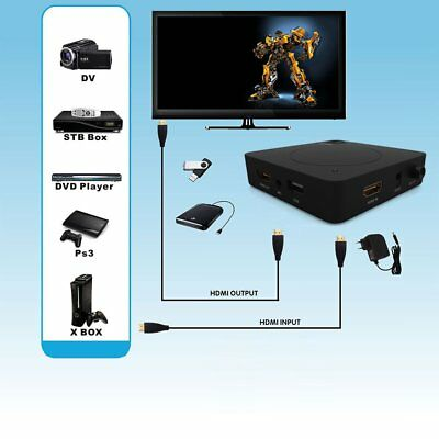 YK918H HD HDD USB2.0 Video Recorder Game Video Capture Box For PS4 XBOX