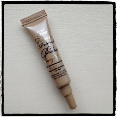 TOO FACED Primed & Poreless Skin Smoothing Face Primer- .17oz Bronze Tint spf 20