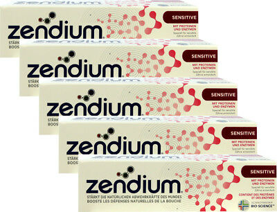 3 x 75 ml Zendium Zahnpasta Sensitive