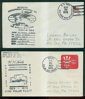 1978-1980 Antarctic Expedition Signed Covers