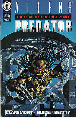 ALIENS PREDATOR DEADLIEST OF THE SPECIES 1...VF/NM+...1993...Bargain!