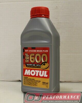 Motul RBF600 DOT 4 Racing Brake Fluid