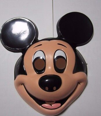 Mickey Mouse Ben Cooper Halloween Mask New Old Stock