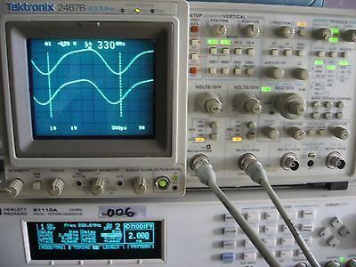 Agilent HP 81110A Dual Channel 330MHz Pulse Pattern Gen. FULLY TESTED Two 81112A