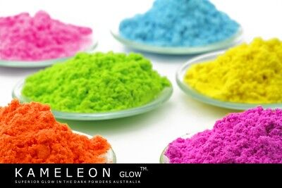 Fluorescent Pigment Powders - Amazing colours