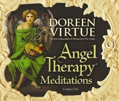 NEW Angel Therapy Meditations By Doreen Virtue Paperback Free Shipping