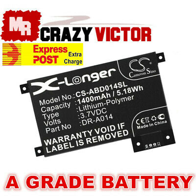 1420mAh Battery For Amazon Kindle Touch D01200 DR-A014 170-1056-00 S2011-002-A