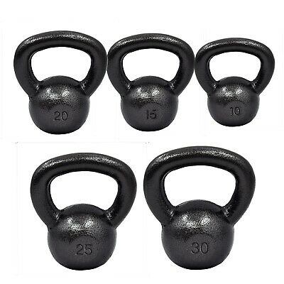 Cast Iron Kettlebell Weight 5Kg - 8Kg - 10Kg - 12Kg - 16Kg - 20Kg - 25Kg - 30Kg