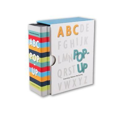 NEW ABC Pop-Up By Courtney Watson McCarthy Hardcover Free Shipping