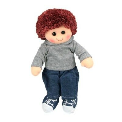 HOPSCOTCH COLLECTIBLES SOFT RAG DOLL JOEL 35cm - BRAND NEW WITH TAGS
