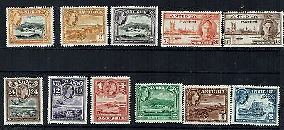 """Collection of Antigua  stamps  """"QE11 and Shipping,    All Mint UH"""""""