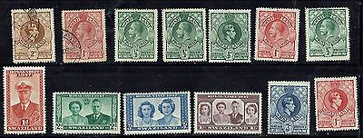 Swaziland mix of nice GV and GV1, with Royal Wedding and 1947 Visit