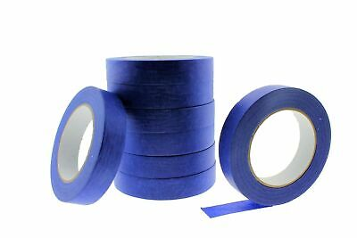 8x USA 1 in inch 60 yd Contractor Blue Painters Tape Paint Masking Easy Release