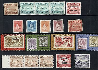 Nauru  Stamp   small  selection used stamps cat value apx  £15