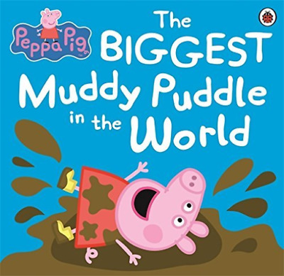 Peppa Pig: The Biggest Muddy Puddle  BOOK NEW