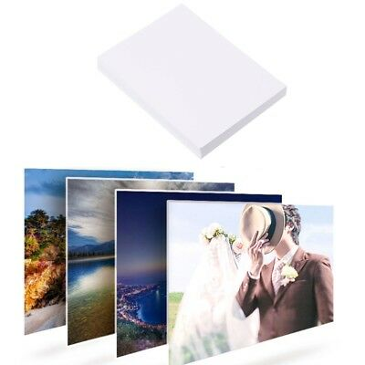 """100Pcs Glossy 7"""" 5R Photo Paper For Inkjet Printers Photographic Graphics Output"""
