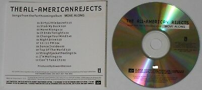 The All-American Rejects  Move Along  2005 U.S. promo cd