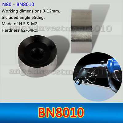2PCS BN8010 Deburring System Blades Double Edge Cutting Compatible