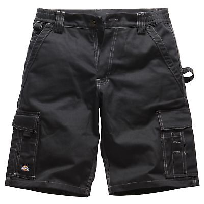 Dickies Industry 300 Bermuda Mechanics Shorts In Black - UK 34 / Regular Leg