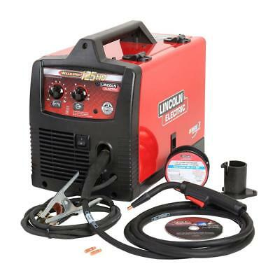 115V 125 Amp Weld Pak 125 HD Flux Cored Welder Magnum 100L Gun Welding Machine