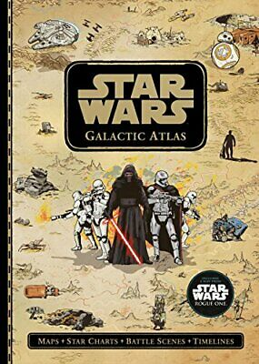 Star Wars: Galactic Atlas by Lucasfilm Book The Cheap Fast Free Post