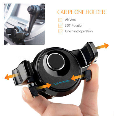 360° Universal Car Arm Air Vent Mount Holder Stand For Mobile Phone Cellphone