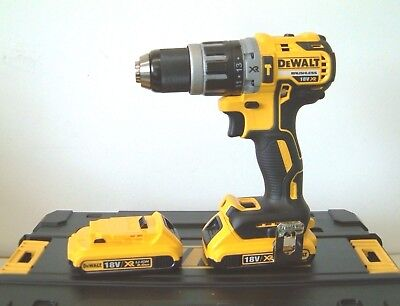 DEWALT DCD796D2 18V XR G2 Brushless Combi Drill 2x2Ah Batteries in T-Stak NEW