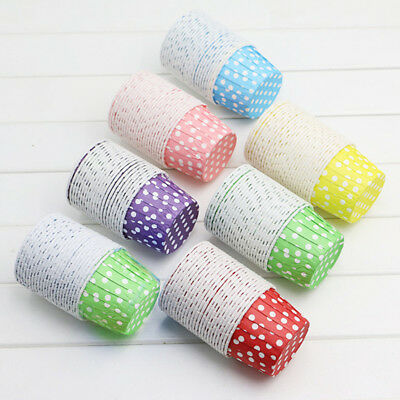 20x Paper Cake Cup Liners Baking Cup Kitchen Muffin Cupcake Cases Party Pop