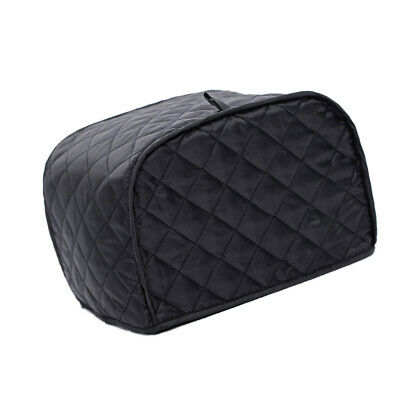 Black Grid 4 Slice Toaster Cover Bakeware Cover Dust-Proof Kitchen Tool