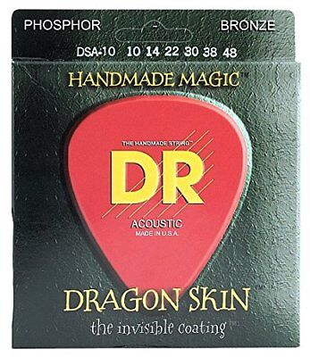 Dr a drag DSA de 10 Dragon Skin Handmade Magic Cuerdas