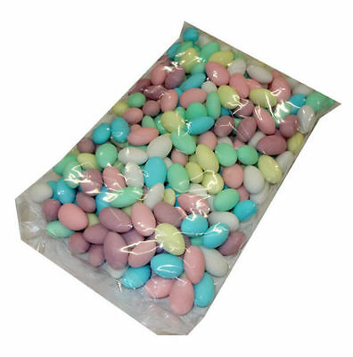 1Kg Assorted Colourful Sugar Coated Almonds Candy Lollies Bulk Rainbow Wedding