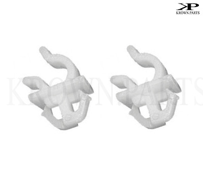 2x Toyota Hilux Landcruiser Bonnet Rod Holder Retaining Support Grip Clamp Clip