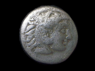 Silver Drachm of Alexander III The Great, 336-323 BC,  CC6918