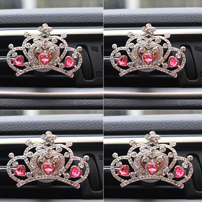 Hot New Car Air Vent Flower with Clip Solid Fragrance Perfume Air Freshener