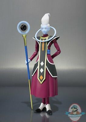 "S.H. Figuarts Whis""Dragon Ball Z"" Action Figure by Bandai"